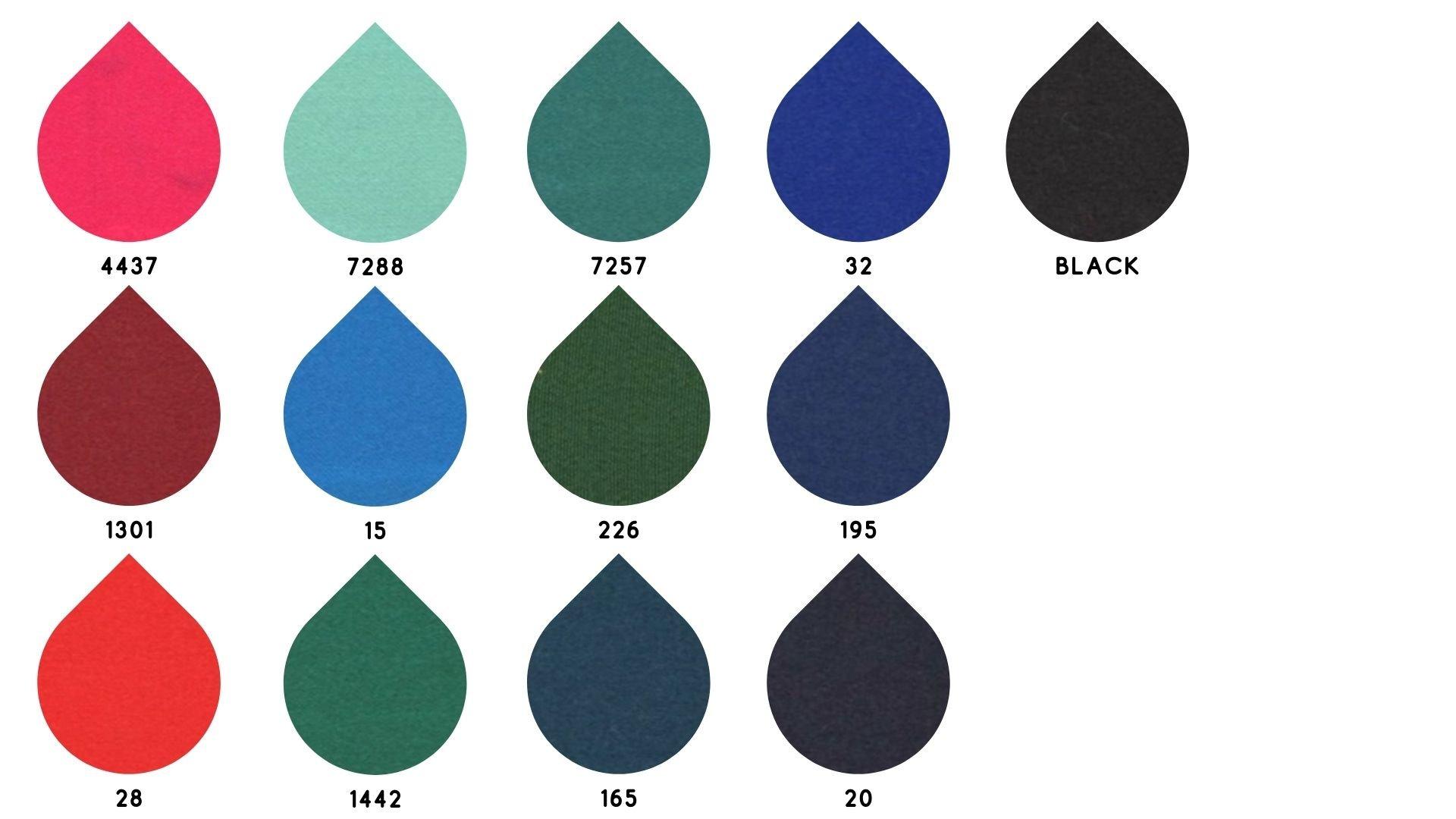 la cartella colore del tessuto 212 di Leadford & Logan