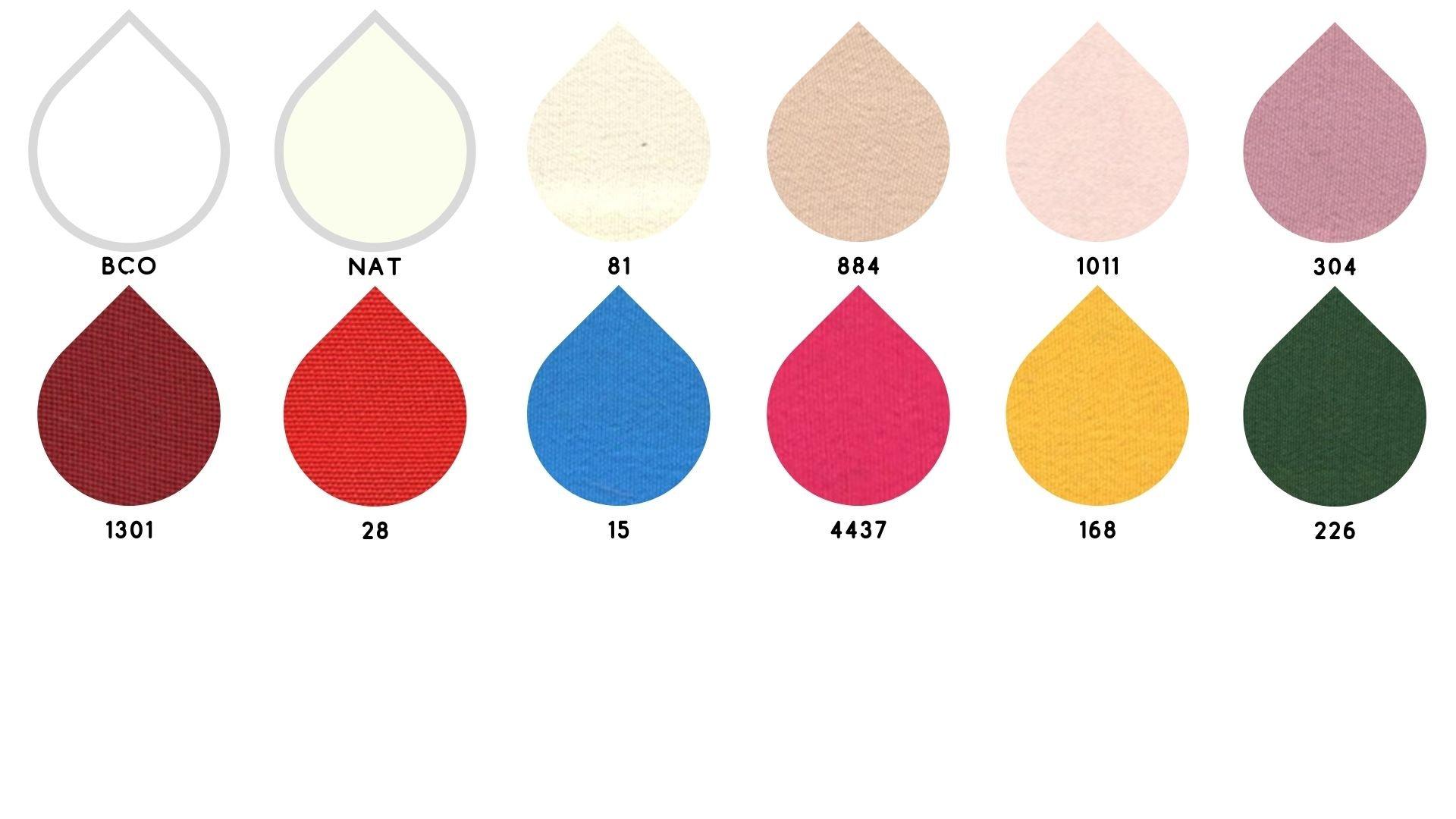 la cartella colore del tessuto 240 marocaine di Leadford & Logan