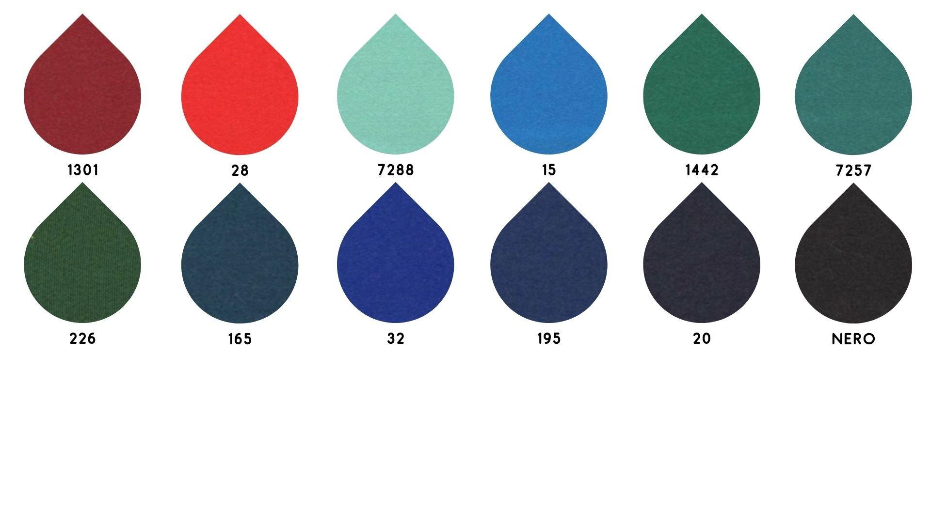 la cartella colore del tessuto 5329 di Leadford & Logan
