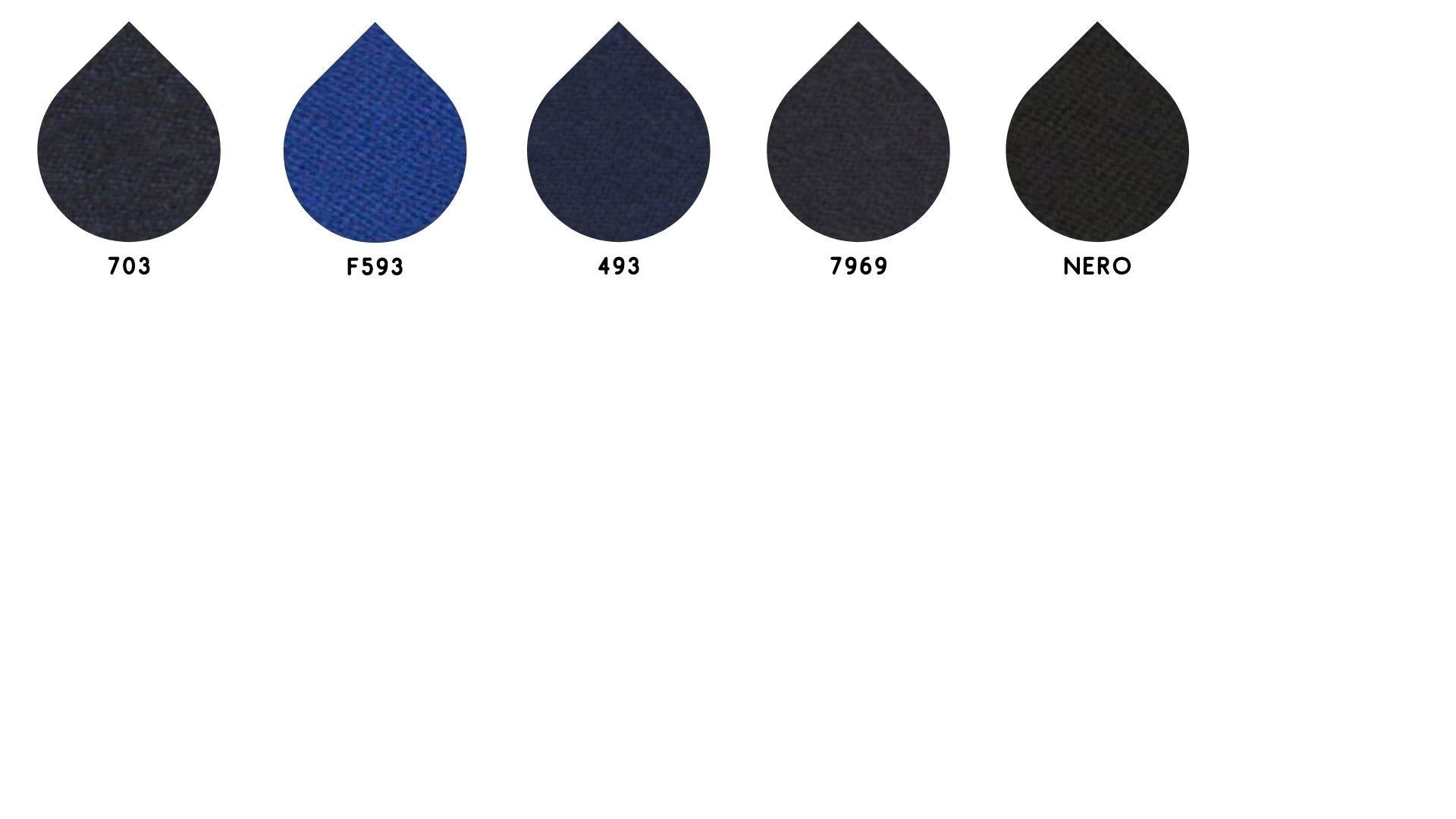 la cartella colore del tessuto flanella di Leadford & Logan