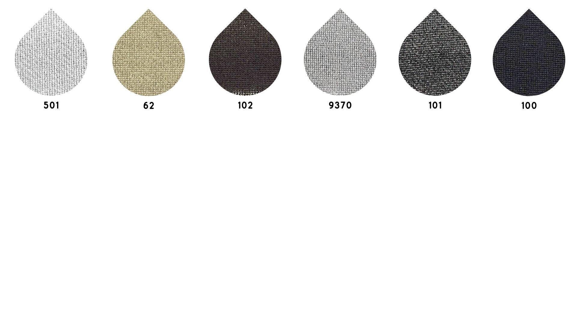 la cartella colore del tessuto nix di Leadford & Logan