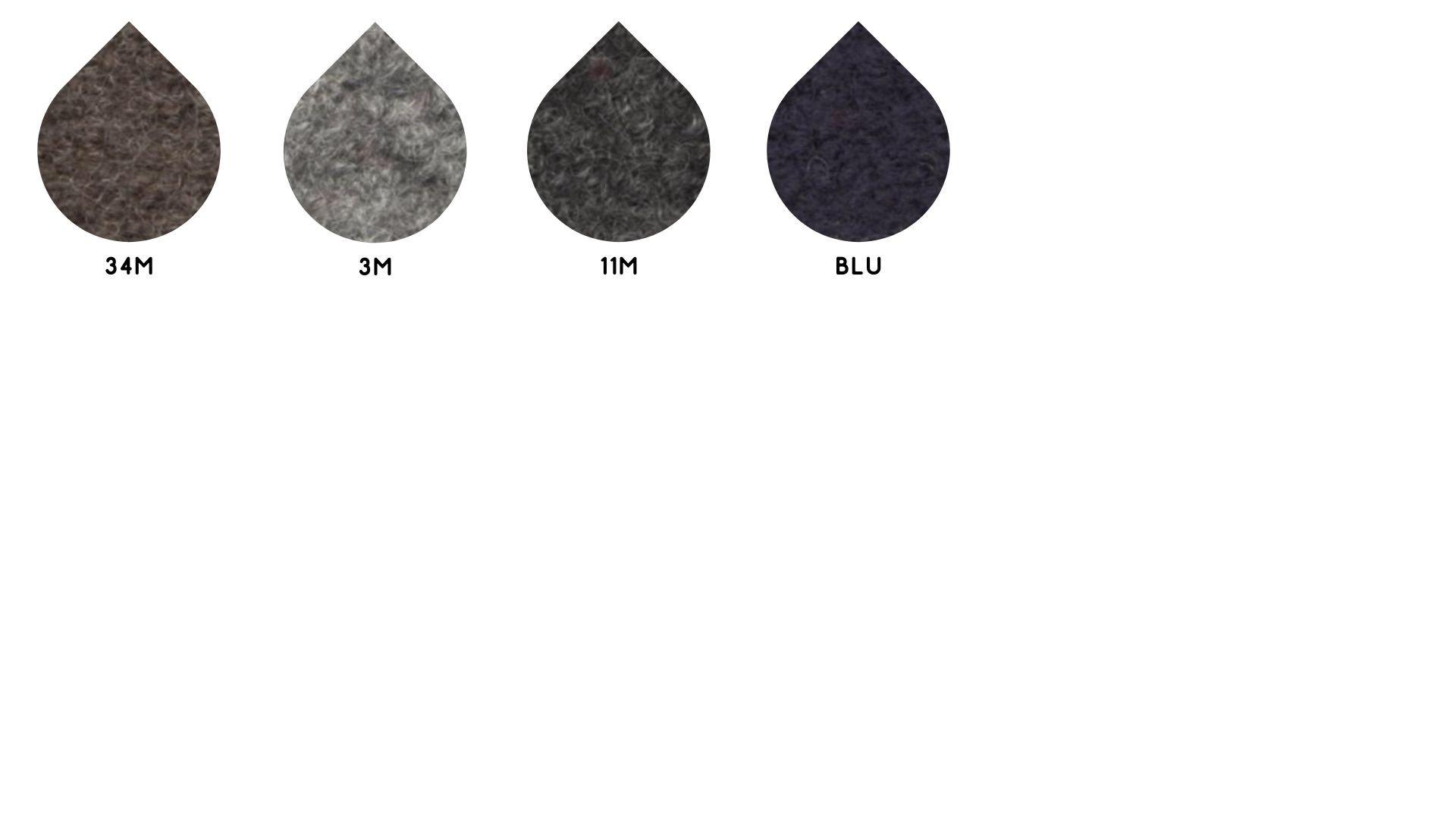 la cartella colore del tessuto superior lanacotta di Leadford & Logan