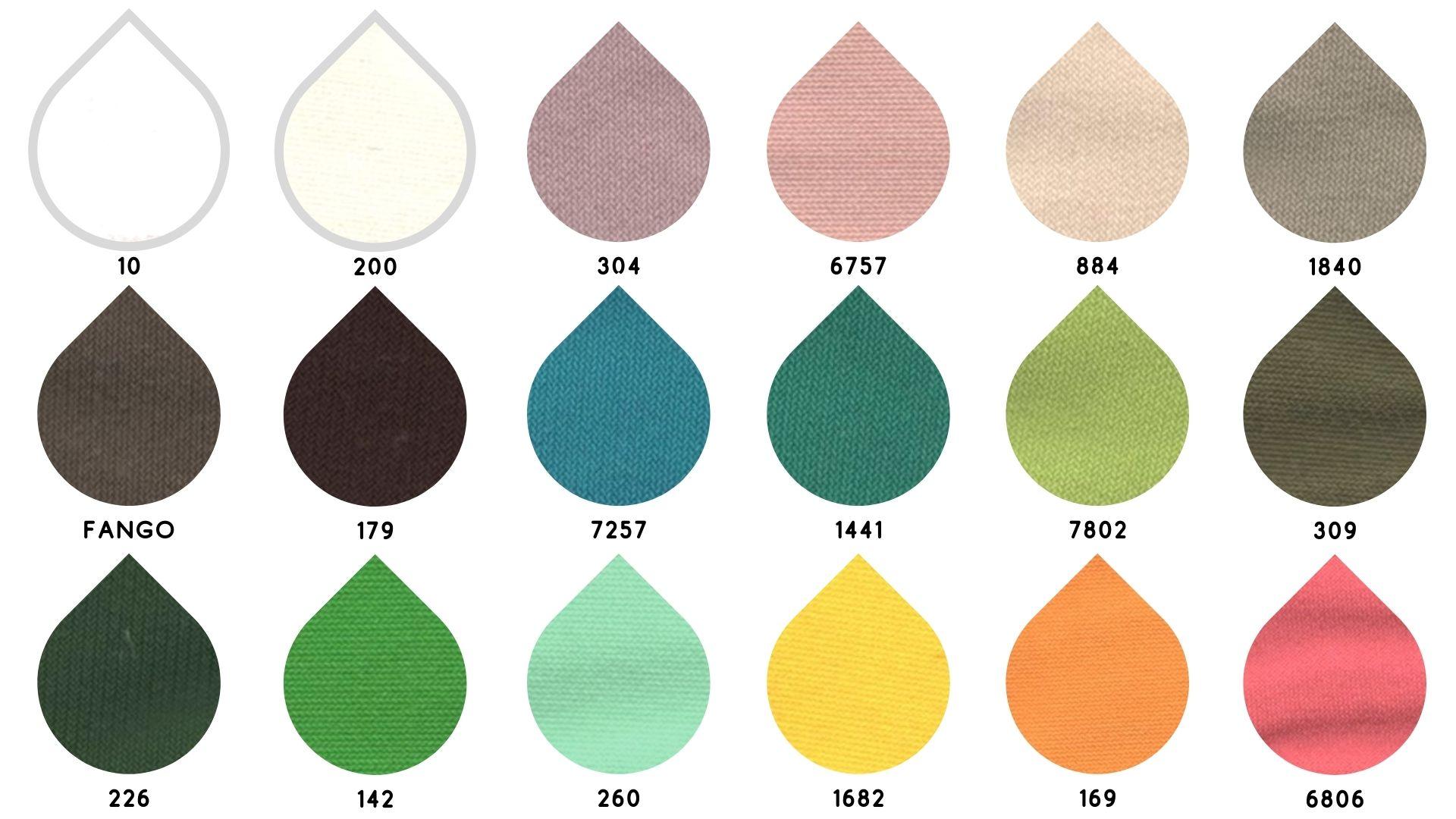 la cartella colore del tessuto 5901 di Leadford & Logan