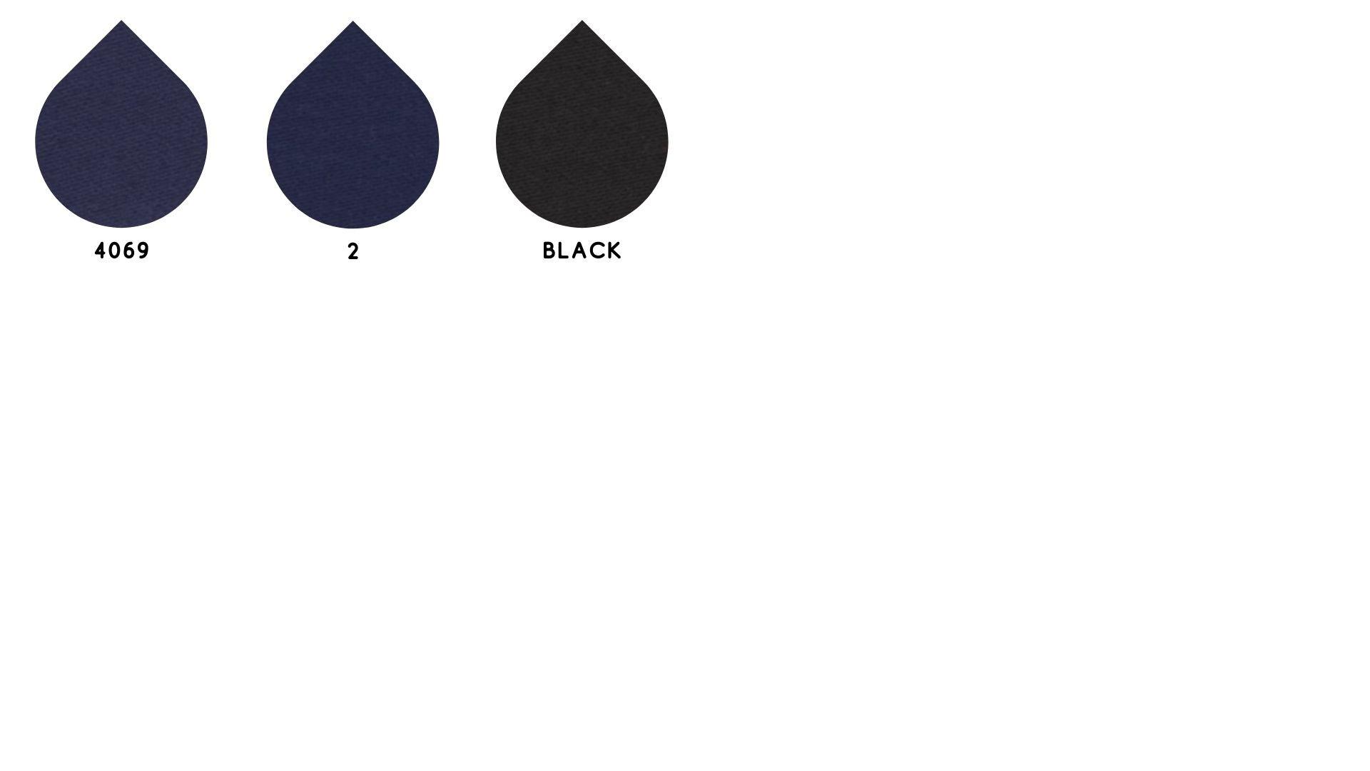 la cartella colore del tessuto blunas di Leadford & Logan
