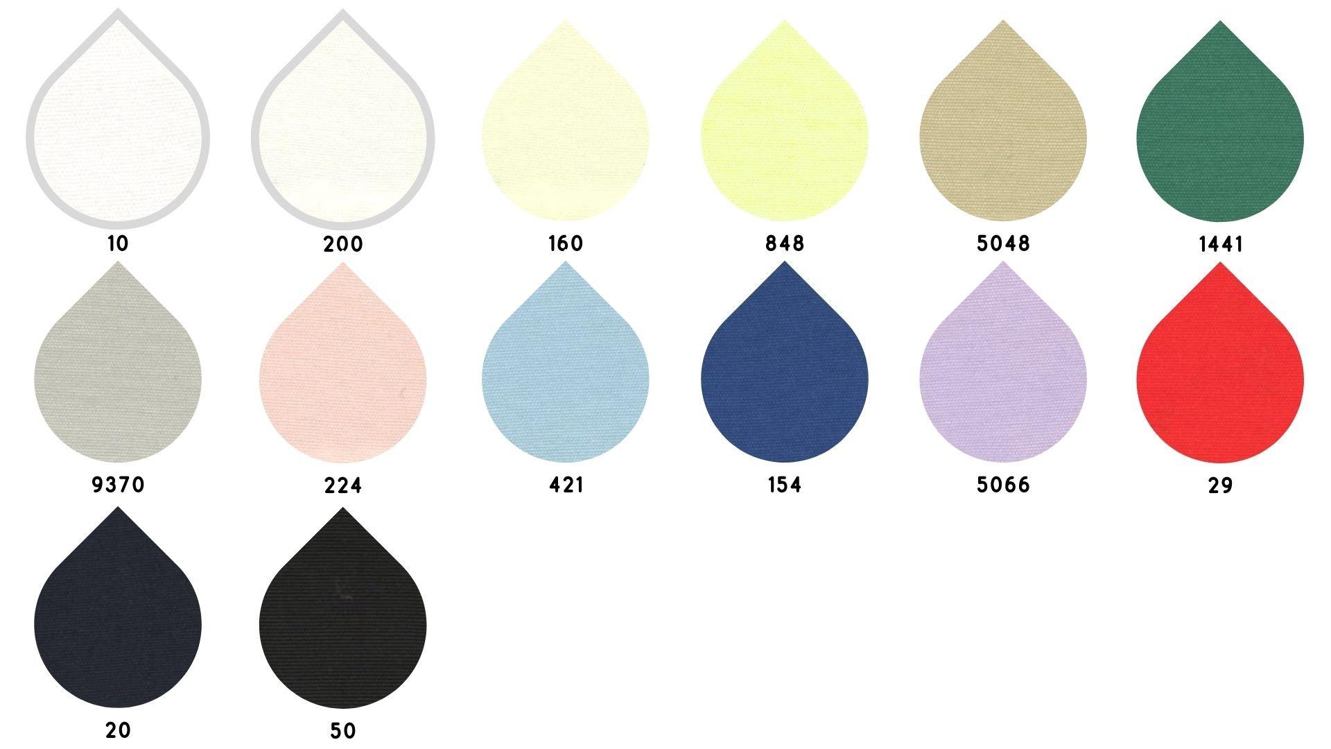 la cartella colore del tessuto shanghai di Leadford & Logan