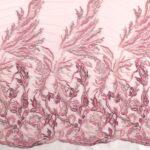 il particolare del tessuto dr6609, appartenente alla categoria ricami con accessori, di Leadford & Logan