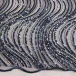 il particolare del tessuto dr6651, appartenente alla categoria ricami con accessori, di Leadford & Logan