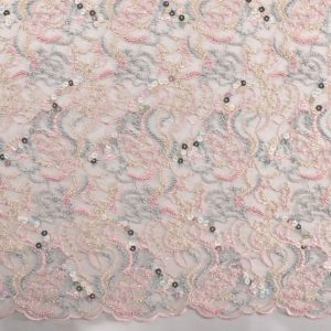 il particolare del tessuto dr6760, appartenente alla categoria ricami con accessori, di Leadford & Logan