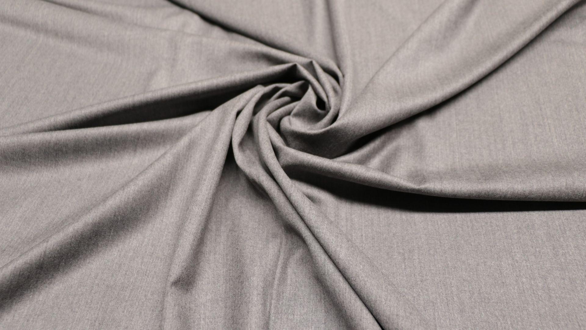 il particolare del tessuto flanella, appartenente alla categoria uniti lana, di Leadford & Logan