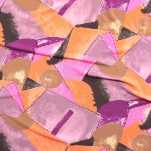 il particolare del tessuto forbes, appartenente alla categoria stampe di viscosa, di Leadford & Logan