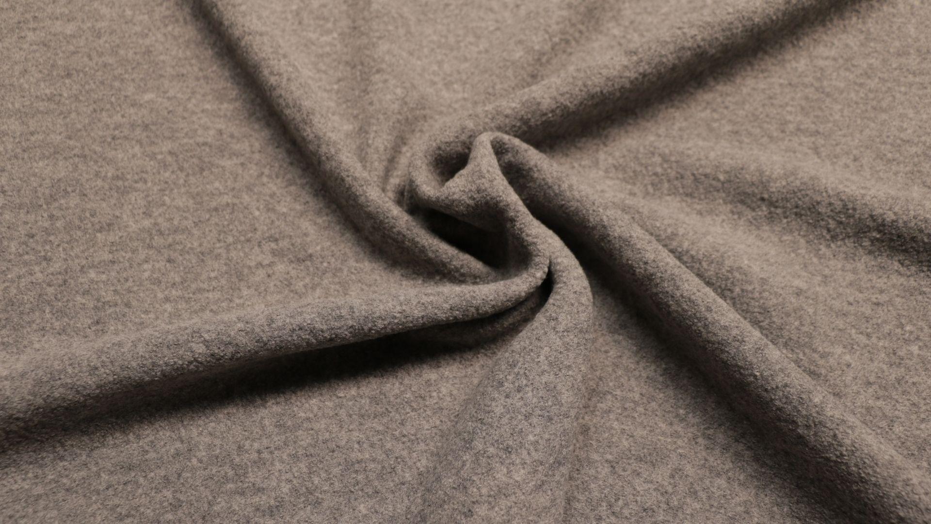 il particolare del tessuto lana cotta superior, appartenente alla categoria uniti cappotti, di Leadford & Logan