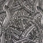 il particolare del tessuto lv11952, appartenente alla categoria ricami da sposa, di Leadford & Logan