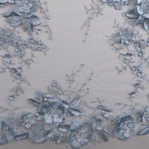 il particolare del tessuto lv5659, appartenente alla categoria ricami con accessori, di Leadford & Logan