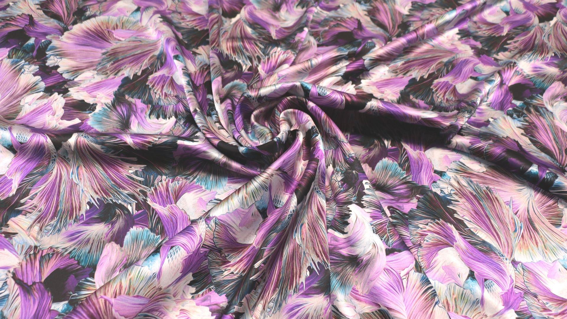 il particolare del tessuto notredame, appartenente alla categoria stampe seta, di Leadford & Logan