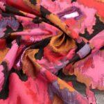 il particolare del tessuto sunday, appartenente alla categoria fantasie broccati, di Leadford & Logan