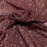 il particolare del tessuto sx033, appartenente alla categoria ricami paillettes, di Leadford & Logan