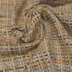 il particolare del tessuto tailleurs evander, appartenente alla categoria fantasie tailleurs, di Leadford & Logan