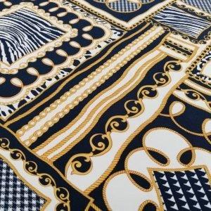 il particolare del tessuto villareal, appartenente alla categoria stampe seta, di Leadford & Logan