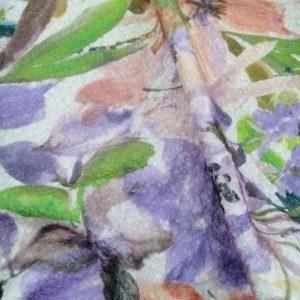 il particolare del tessuto renard, appartenente alla categoria stampe poliestere fibremiste, di Leadford & Logan